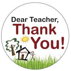 Thank a teacher today...It's Teacher Appreciation Week! We appreciate all of our wonderful teachers at CMS!!!!