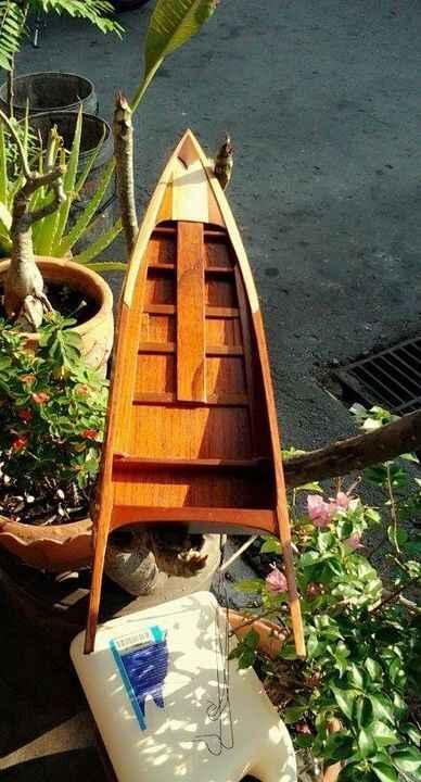 เรือไม้สวยสวยเนียนนียน :D