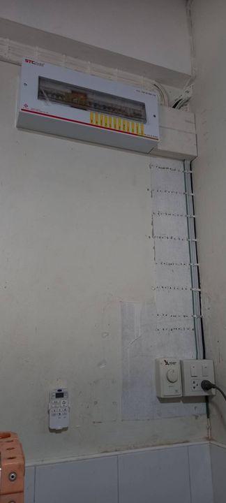 ปิดจ๊อบส่งงาน 😊 🙏 ✌️ 💙👨🔧👨🔧👨🔧 ติดตั้ง-ปรับปรุงตู้ควบคุมระบบไฟฟ้าภายในให้ปลอดภัยมากขึ้น.👍👍👍การทำงานเป็นทีมสิ่งที่สำคัญม...